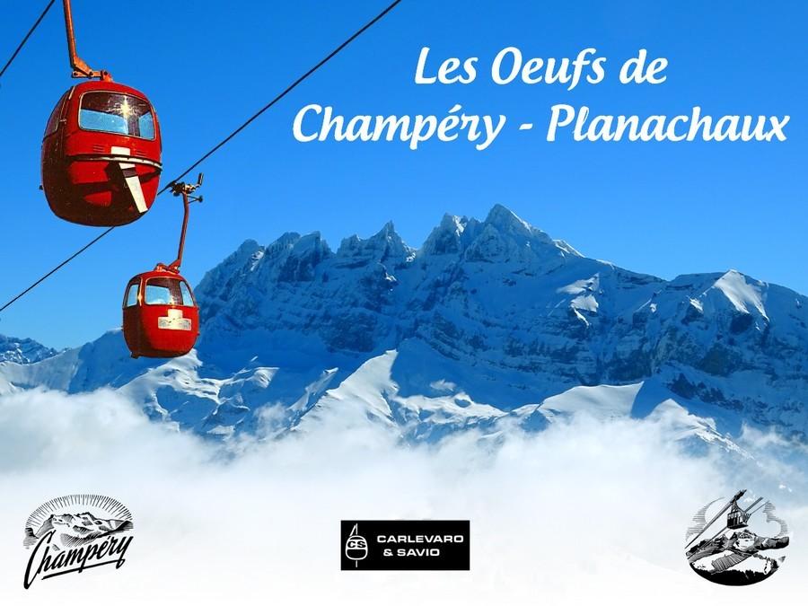 Les Oeufs de Champéry - Planachaux